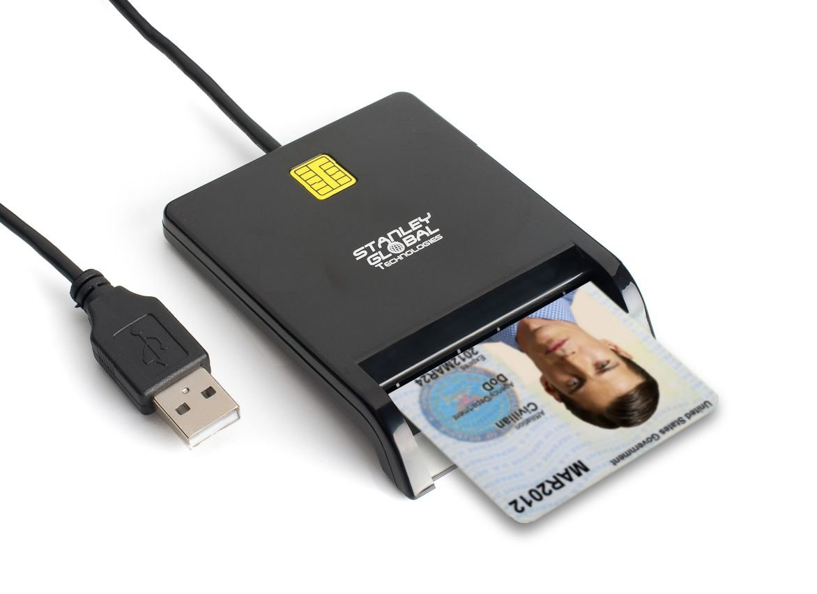 Amazon stanley global sgt111 dod military usb common access amazon stanley global sgt111 dod military usb common access cac piv fips 201 certified taa compliant smart card reader computers accessories xflitez Gallery