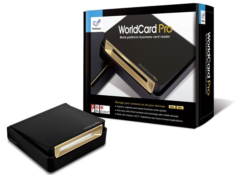 Amazon.com: PenPower WorldCard Pro Business Card Scanner (Win/Mac ...