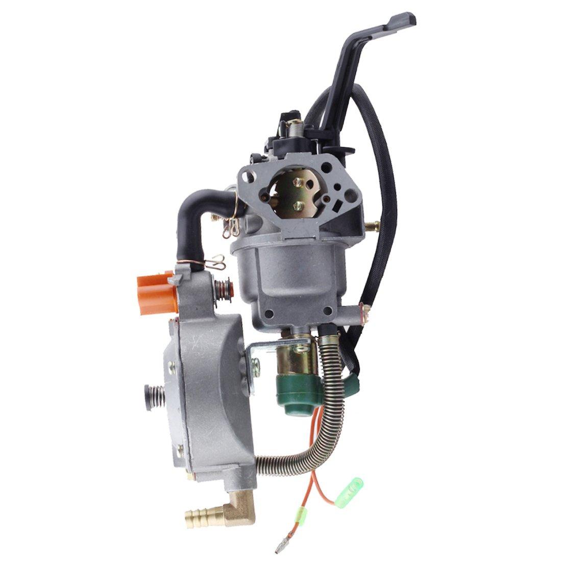 HIPA Generator Dual Fuel Carburetor LPG CNG Conversion kit 4.5-5.5KW GX390 188F Manual Choke