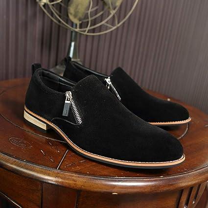 2b6df570c2c11 Amazon.com: Starttwin Men's Oxford Shoes Suede Vintage Comfortable ...