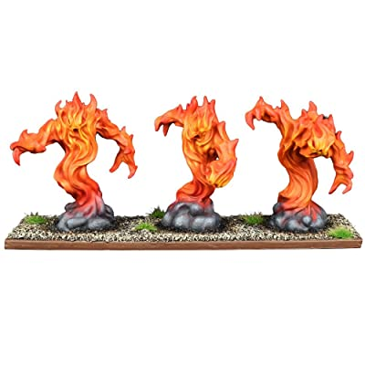 FIRE Elemental Regiment - Kings of WAR: Toys & Games