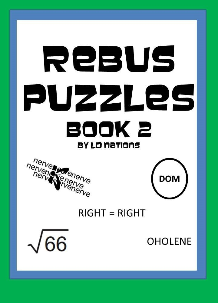 Rebus Puzzles:Word Games for the Mind: Book 2 (English Edition)