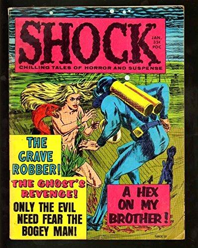 SHOCK #5 4.5 VG 1970 STANLEY PRE CODE HORROR