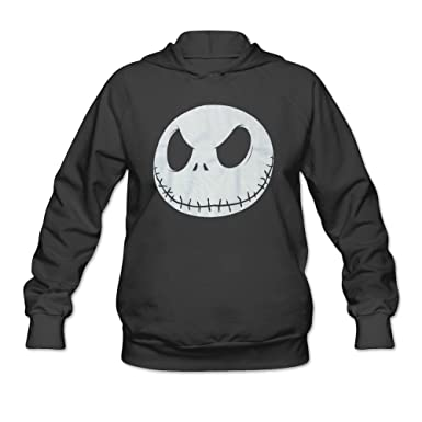Women's Head Nightmare Before Christmas Hoodie at Amazon Women's ...