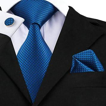 WOXHY Corbata de los Hombres Corbata Nuevo diseño Conjunto de ...