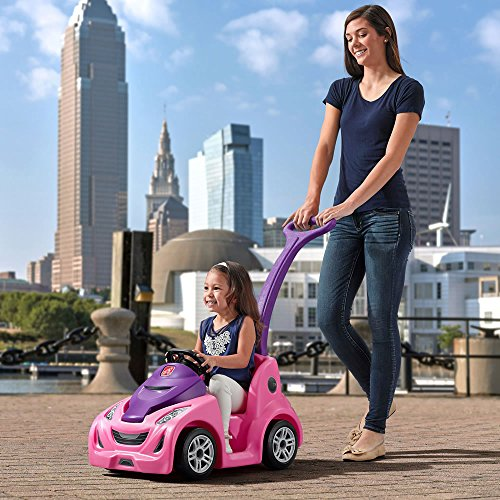 61rdQEH3daL - Step2 Push Around Buggy GT, Pink Push Car (Amazon Exclusive)