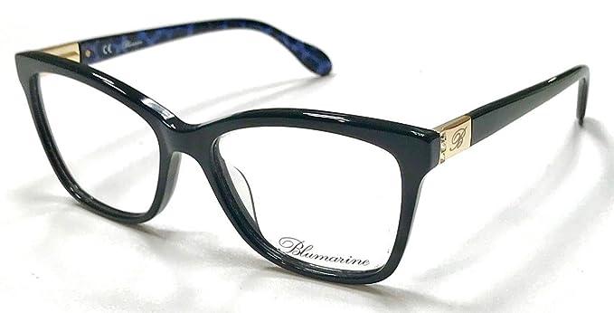 0a9a98d04e3d6 Blumarine Monture de lunettes - Femme Noir Noir femme  Amazon.fr ...