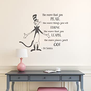Wall Decal Decor The More That You Read