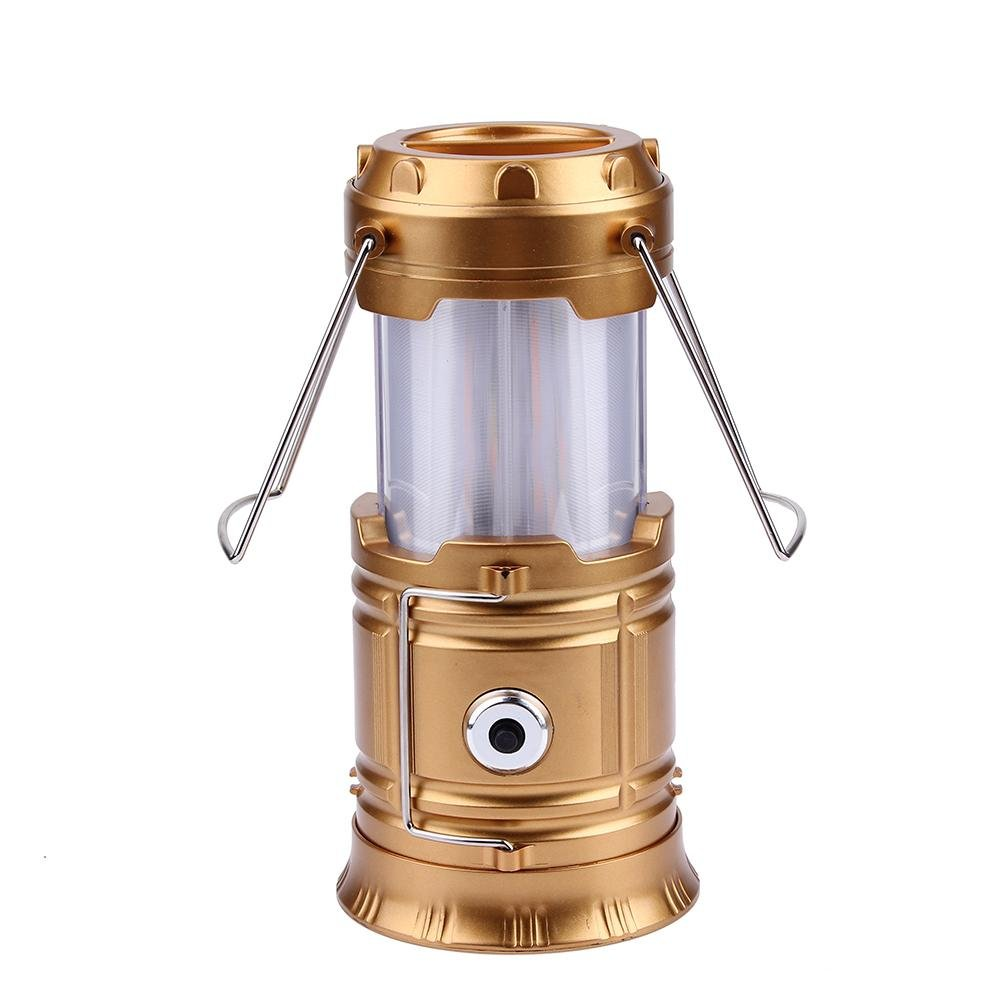 Trendyest Portable Pliable Lanterne de Camping Effet Flamme Searchlight Lampe de Poche