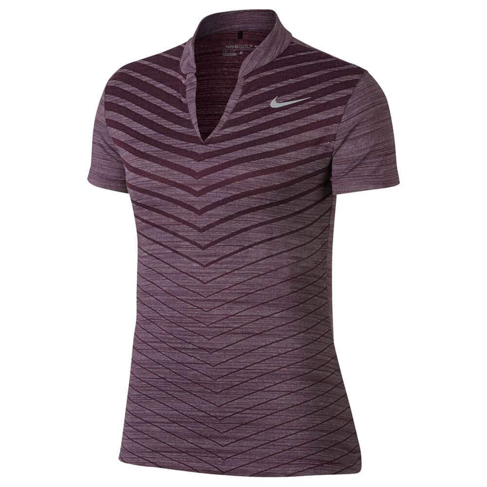 Nike Zonal Cooling HO Print Short Sleeves Golf Polo 2017 Women ...