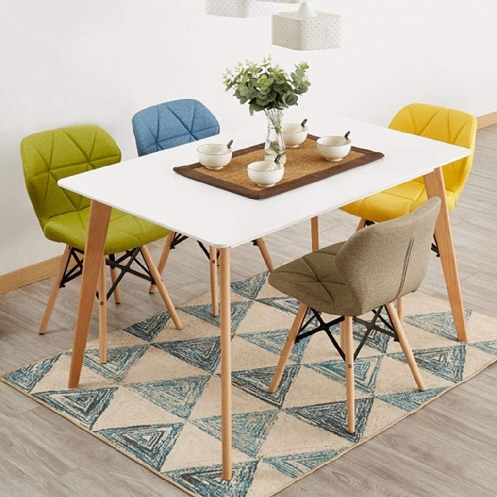 HEJINXL köksstolar matstolar mjukt texturerat läder ryggstöd solid bok modern minimalistisk fjäril stol makeup dator stol kontor stol uppsättning med 2 (färg: D) D