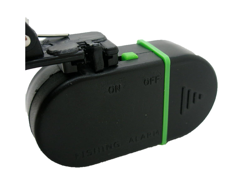 Alarma Detector Avisador de Picada Pez para Caña de Pescar con Luz Sonido 2318
