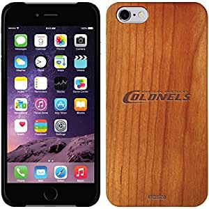 fashion case iphone 5s Madera Wood Thinshield Case with Eastern Kentucky Colonels Design