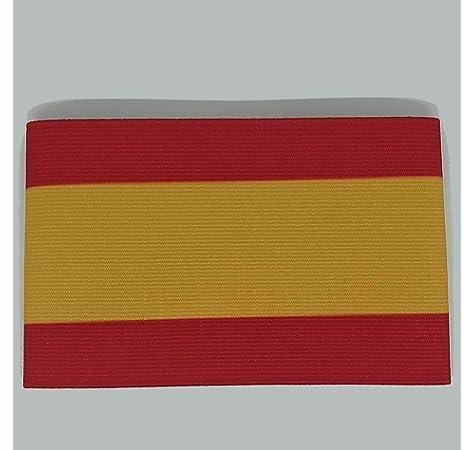 Mercury Capitán España, Brazalete, Rojo-Amarillo, Talla Senior ...