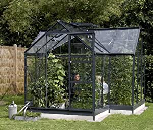 Eden Halls Greenhouses Ltd Eden Orangery : Finish Color - Aluminium