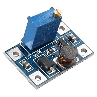 haljia sx13082A Convertidor DC-DC Step-Up ajustable módulo de potencia Booster para Arduino Raspberry Pi brazo DIY