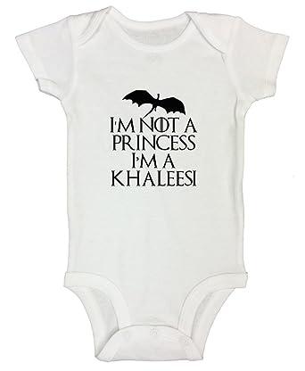"e4820b4f9b Kids Game of Thrones Onesie Child ""Im Not a Princess Im a Khaleesi"" - Funny  Threadz®"