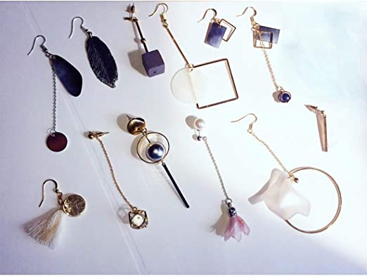 wholesale supply 10 pcs 10/% Less Glass Pendants Bezel Charms Earring Drops,Clear Crystal GP1.C Gold or Silver Plated Brass 16x13 mm
