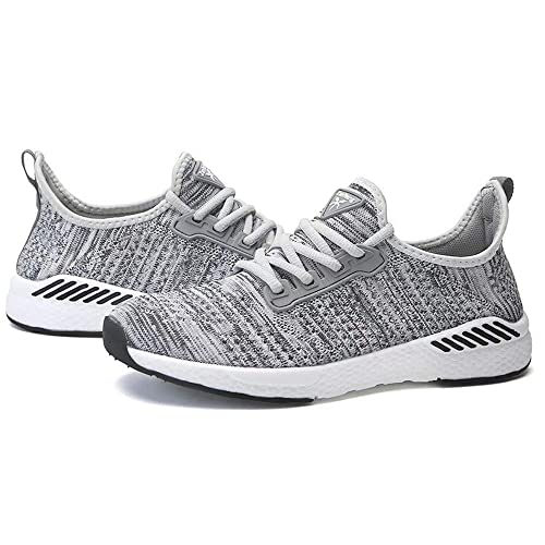 visionreast Women Mens Knit Running Shoes Mesh Breathable Fashion Sneakers Non-Slip Athletic Walking Sport Shoes Lightweight Tennis Gym Shoes