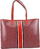 Tory Burch Gemini Link Tote Shoulder Bag (Exotic Red)
