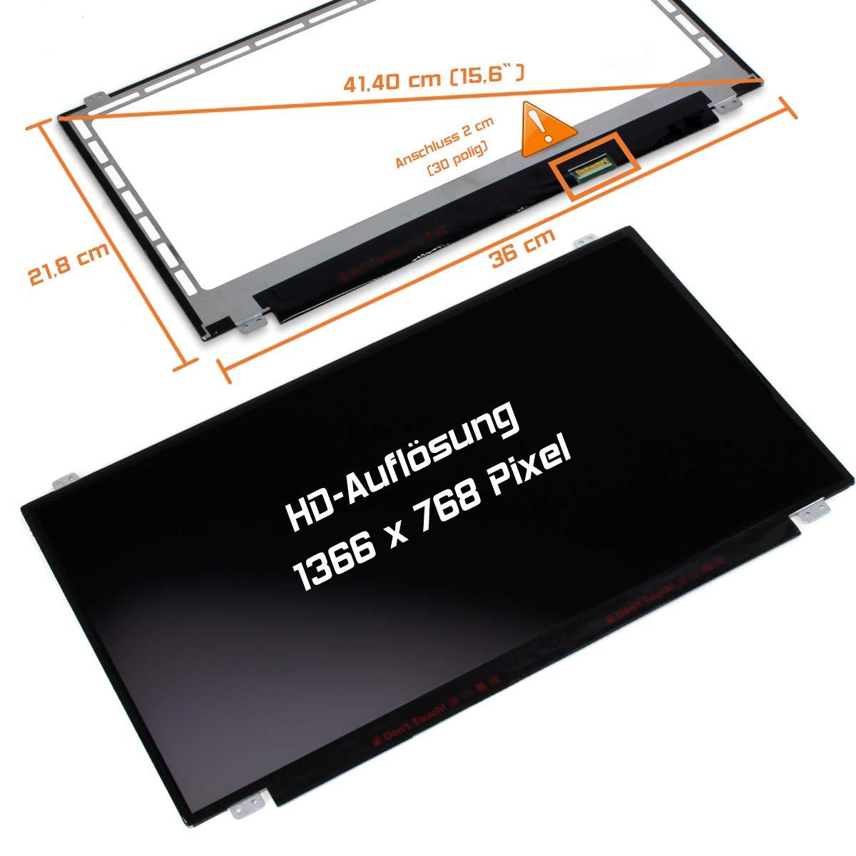 Laptiptop 15,6 LED Display Screen matt Ersatz f/ür Acer Aspire Es1-521-64xk HD Bildschirm Panel