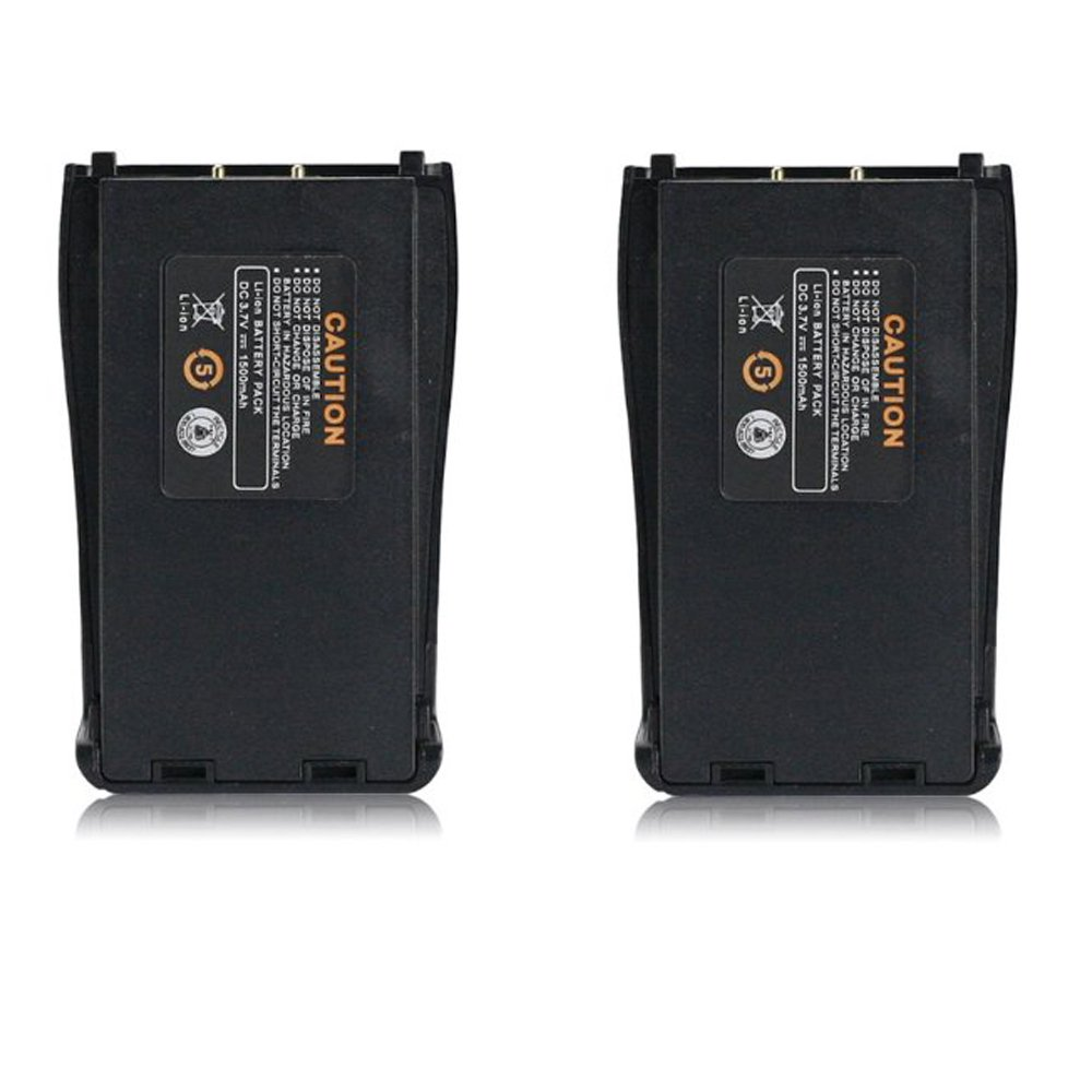 Original Baofeng BF-888S Two-Way Radio Battery (Pack of 2)