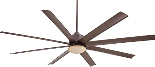 Minka Aire Slipstream 65 in. Integrated LED Indoor/Outdoor Oil Rubbed Bronze Ceiling Fan