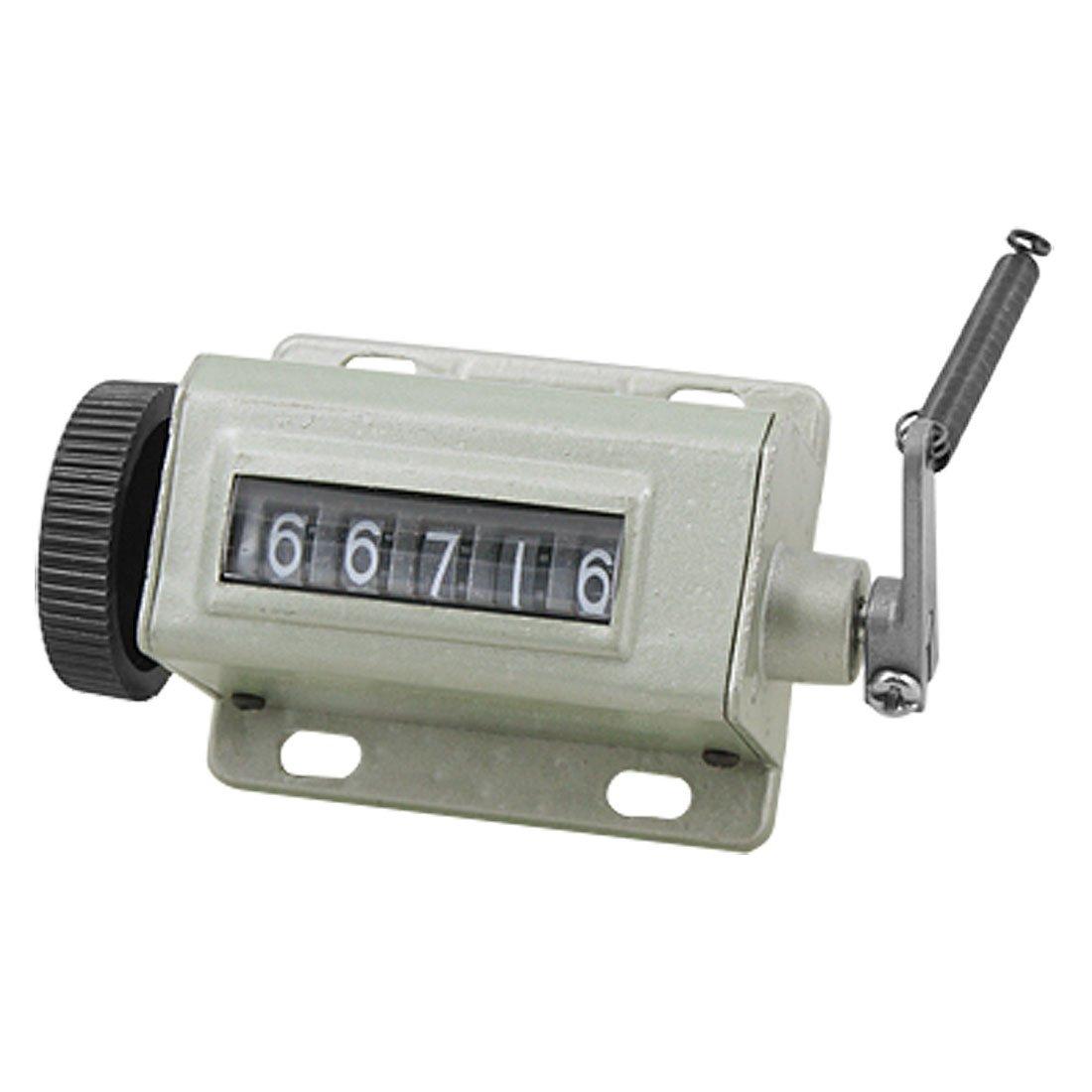 Sourcingmap a10100400ux0196 - Recuento mano 5 número de dígitos contador arithmometer mecánica