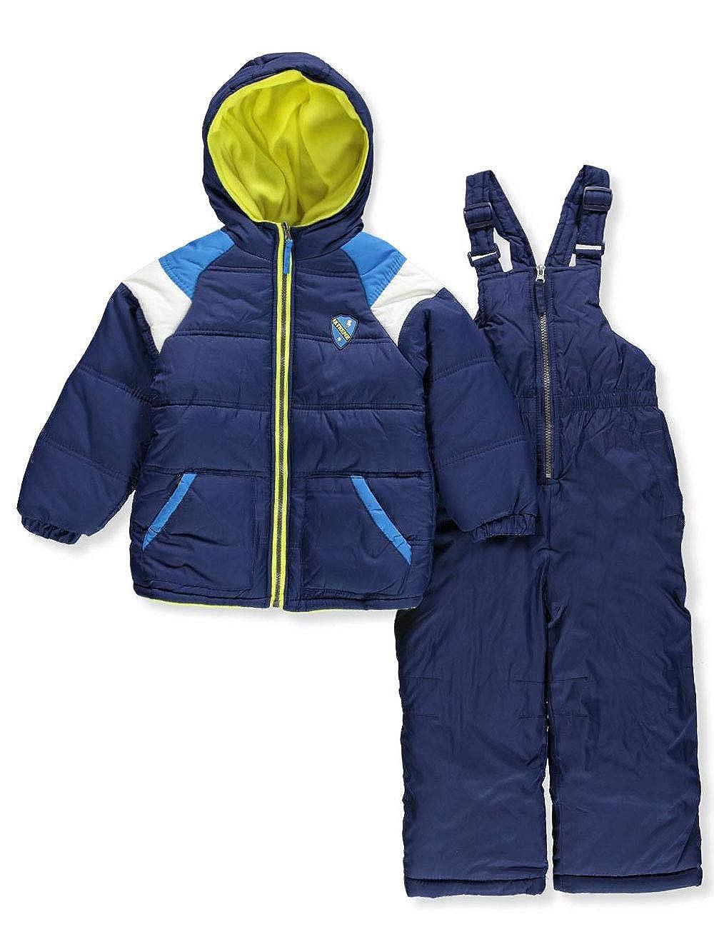iXtreme Boys' Toddler Active Colorblock Snowsuit