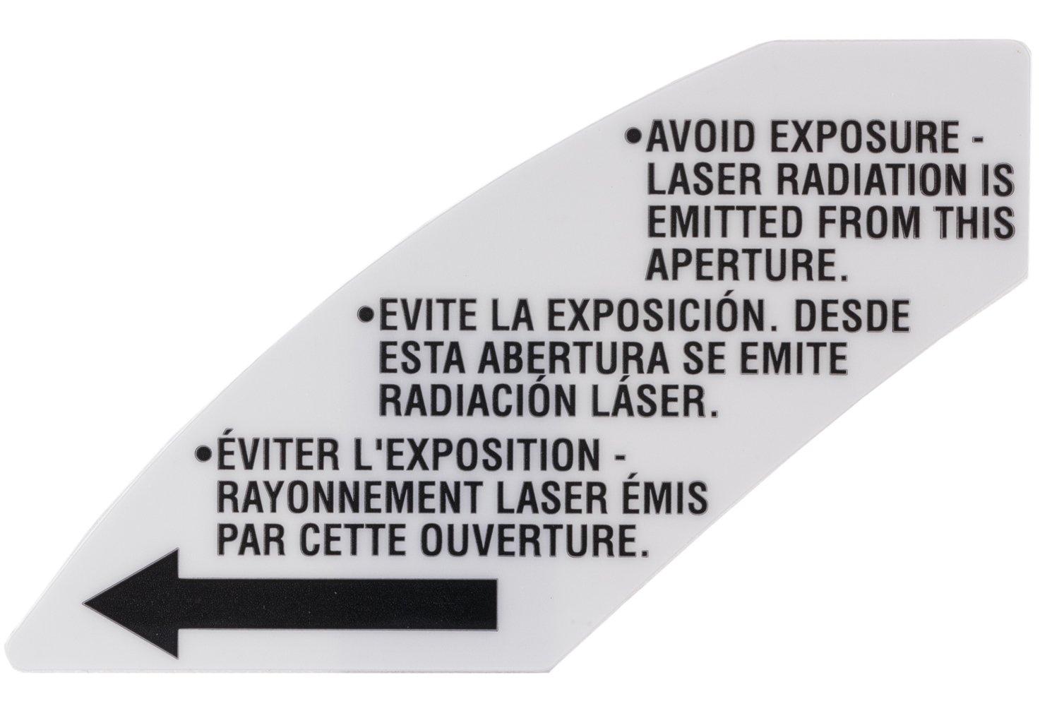 Bosch Parts 1619X02014 Warning Label
