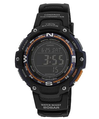 buy casio outdoor digital black dial men s watch sgw 100 2bdr rh amazon in Casio Twin Sensor Watch Replacement Band Casio SGW 100