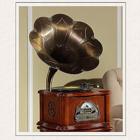 RAPLANC Disco de Vinilo de fonógrafo Retro Base de aleación de ...