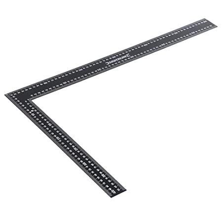 Silverline SL35 Steel Framing Square 600 x 400mm: Amazon.co.uk: DIY ...