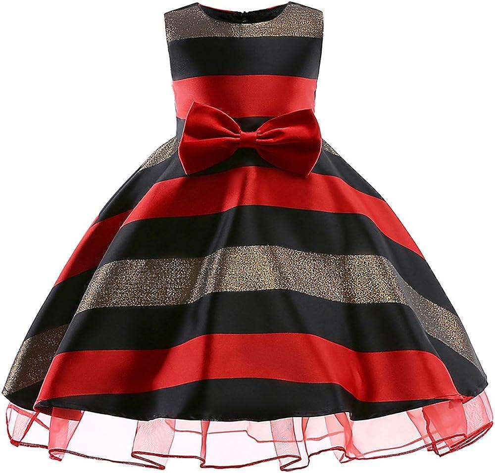 LZH M/ädchen Kleid Party Hochzeit Besondere Prinzessin Festzug Kleider