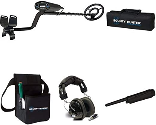 Amazon.com: Detector de metales Bounty Hunter TK4  ...