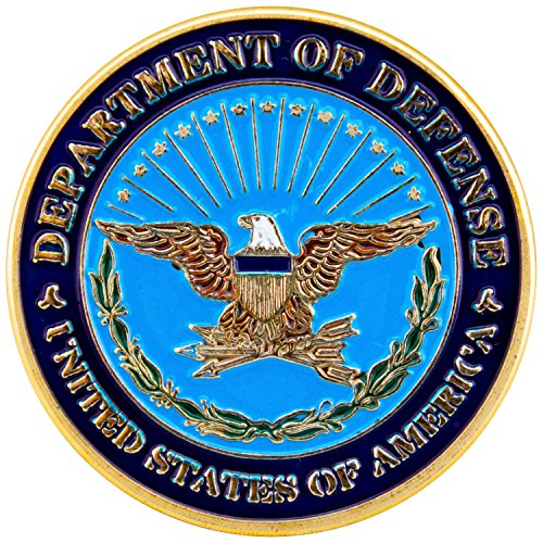 Art Crafter Department of Defense Challenge Coin Military Badge D006J