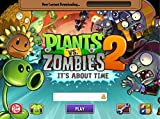 Plants vs Zombies II 19x14 inch Plastic Poster - Waterproof - Anti-Fade - Can Use On Outdoor/Garden/Bathroom - 1PP7EB6