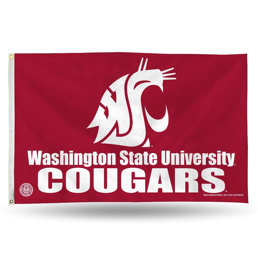 NCAA Banner Flag 3-Foot by 5-Foot Rico Industries Inc. FGB150501