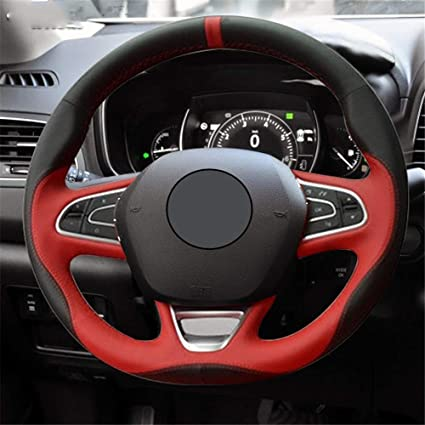 1* Red Interior Steering Wheel Protector Cover for BMW 6 Series GT G32 2017-2018