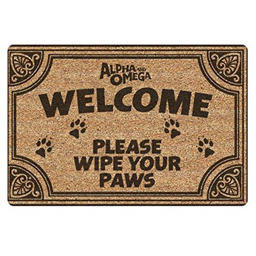 chaqlin Welcome Doormats Entrance Way Floor Mat Carpet Home Decor Office ()