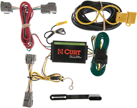 CURT 55349 Vehicle-Side Custom 4-Pin Trailer Wiring Harness for Select on jeep electrical harness, jeep cold air intake, jeep door locks, jeep seat covers, jeep ignition switch, jeep alternator wiring, jeep trailer accessories, jeep trailer lights, jeep instrument cluster, jeep towing, jeep trailer hitch, jeep trailer brake controller,