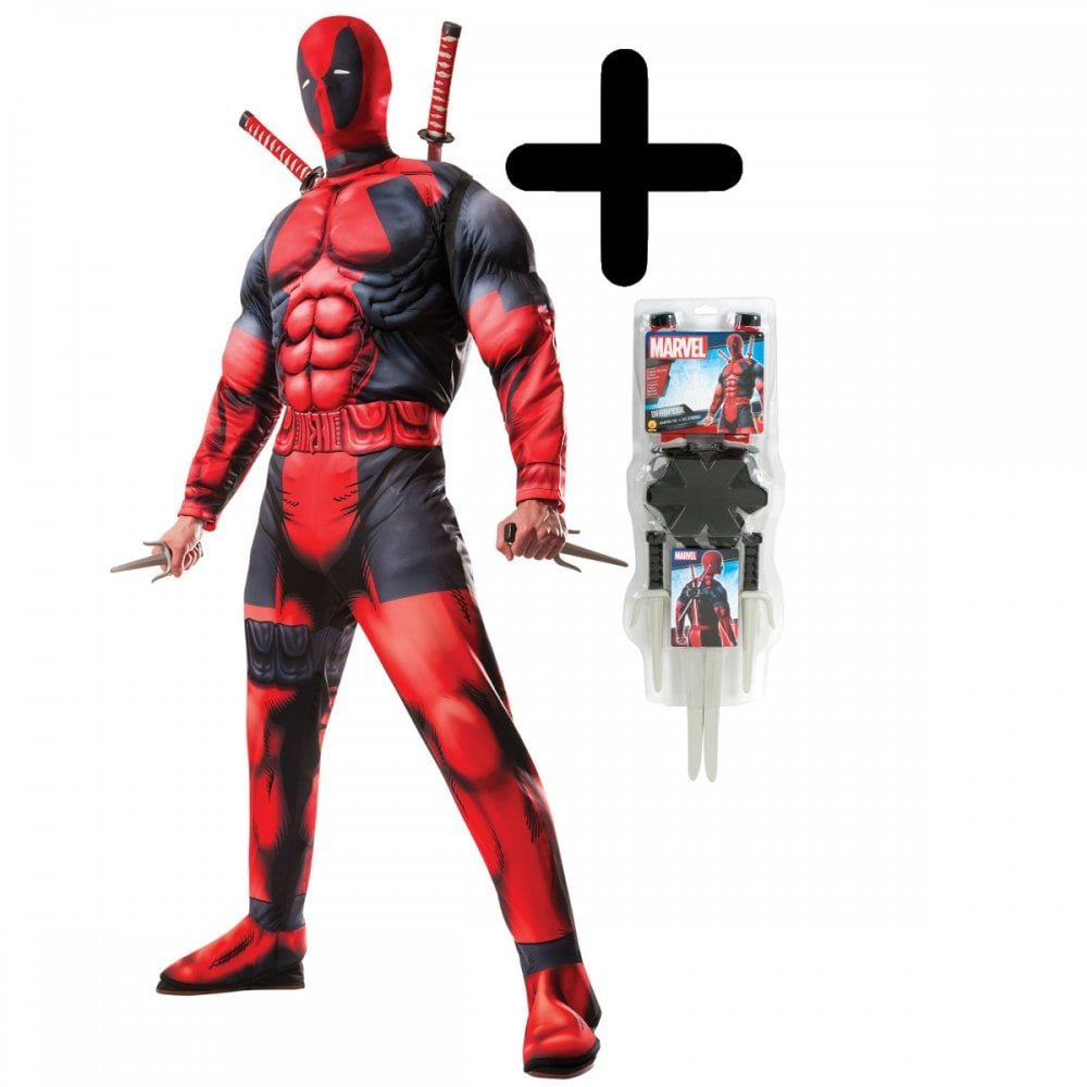MFD Deluxe Deadpool Standard + Weapon Kit  Amazon.co.uk  Toys   Games c3dfdd191