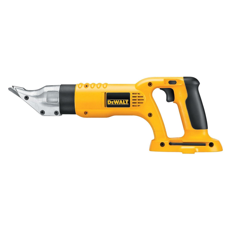 Tool Only DEWALT DC490B 18-Volt Cordless 18 Gauge Swivel Head and Shear