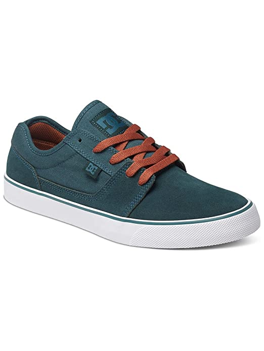 DC Shoes Tonik Sneakers Skateboardschuhe Herren Damen Unisex Erwachsene Türkis/Orange (Deep Jungle)