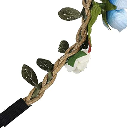 WTB - Diadema para niña con flores y hada bohemias, ideal para ...