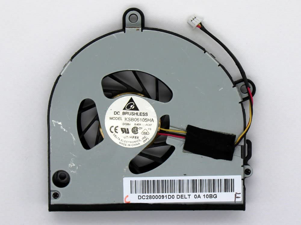 iiFix New Replacement CPU Cooling Fan For Toshiba Satellite A665-S6090 A665-S6092 A665-S6093 A665-S6094 A665-S6097 A665-S6098 A665-S6100 A665-SP5131