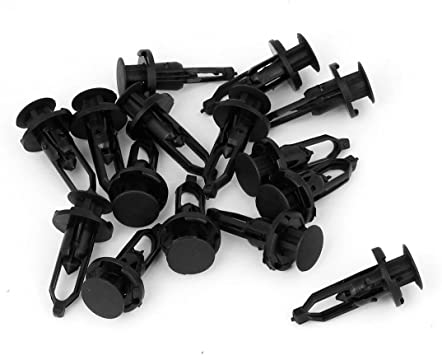 10Pcs Engine Side Cover Clips Retainer For Toyota ES IS Lexus Black Push Type