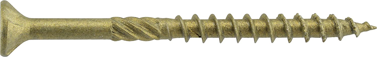Hillman 48610 Power Pro Premium Exterior Wood Screw 530 pack The Hillman Group 9 X 2 1//2-Inch