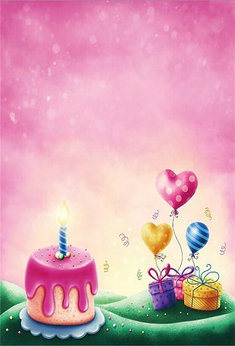 Amazon Csfoto 5x7ft Background For 1st Birthday Party Decor