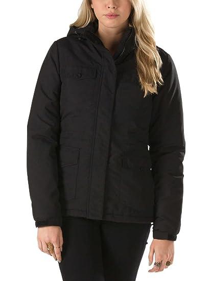 Vans Donna Giacca Jacke G Le Monde Jacket Black XL  Amazon.it  Abbigliamento 20d4bc8aad46